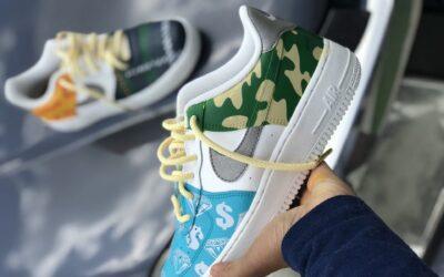 Design og kreer dine egne sneakers med sneaker maling